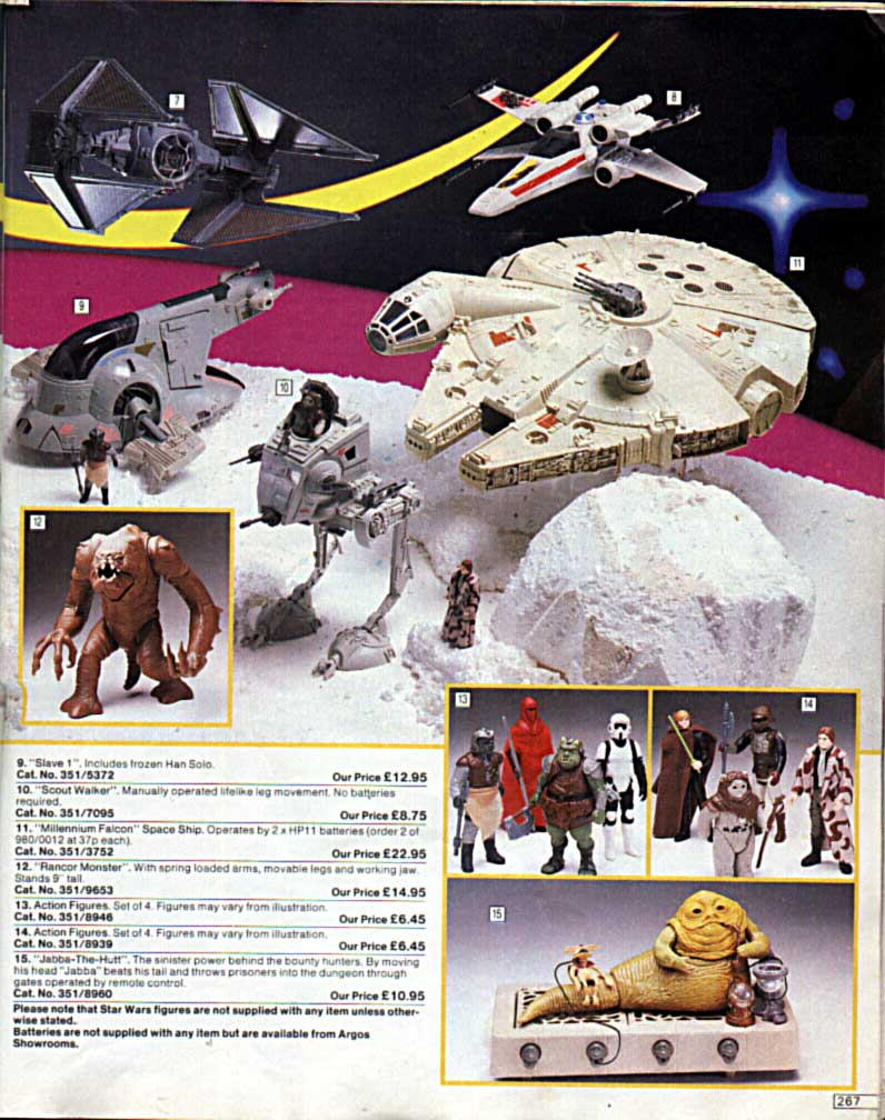 star wars argos catalogues
