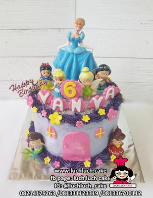 Princess Disney Birthday Cake Surabaya - Sidoarjo