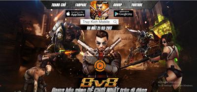 Truy kích mobile đã cho tải game và ngày ra mắt chính thức