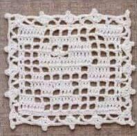 Cuadrado a Crochet