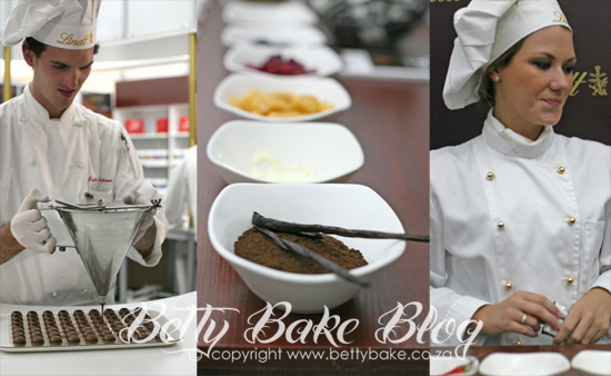 Lindt, Taste of Cape Town, Lindt chefs, flavours of Lindt, Betty Bake, Chocolate