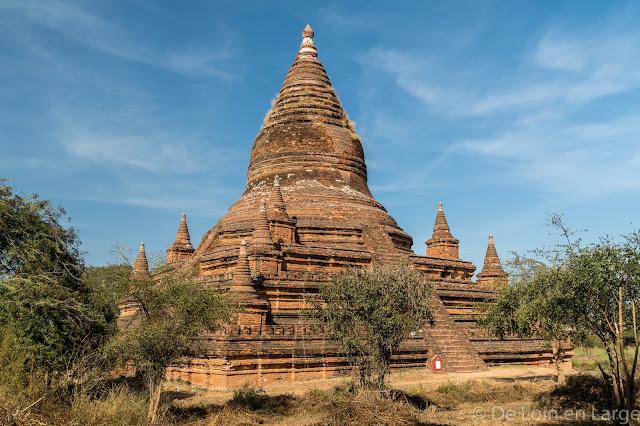 Maha Zedi - Old Bagan - Myanmar - Birmanie