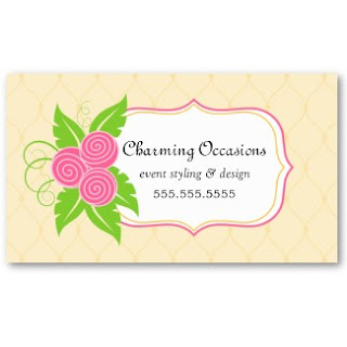 Business card showcase by socialite designs elegant floral event yet whimsical business card design for business or personal use if you like the design but would like the color changed please do not hesitate to reheart Gallery