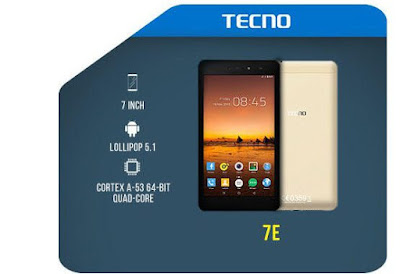 Tecno 7E Price full Features and specification