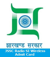 JSSC Radio SI Wireless Admit Card