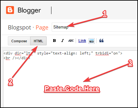 create-sitemap-page-in-blogspot