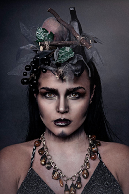 Mystic Magic, halloween, costume ideas, witch, wicked witch, day of the dead, photo, dark beauty, headpiece, fashion, creative, inspiration,