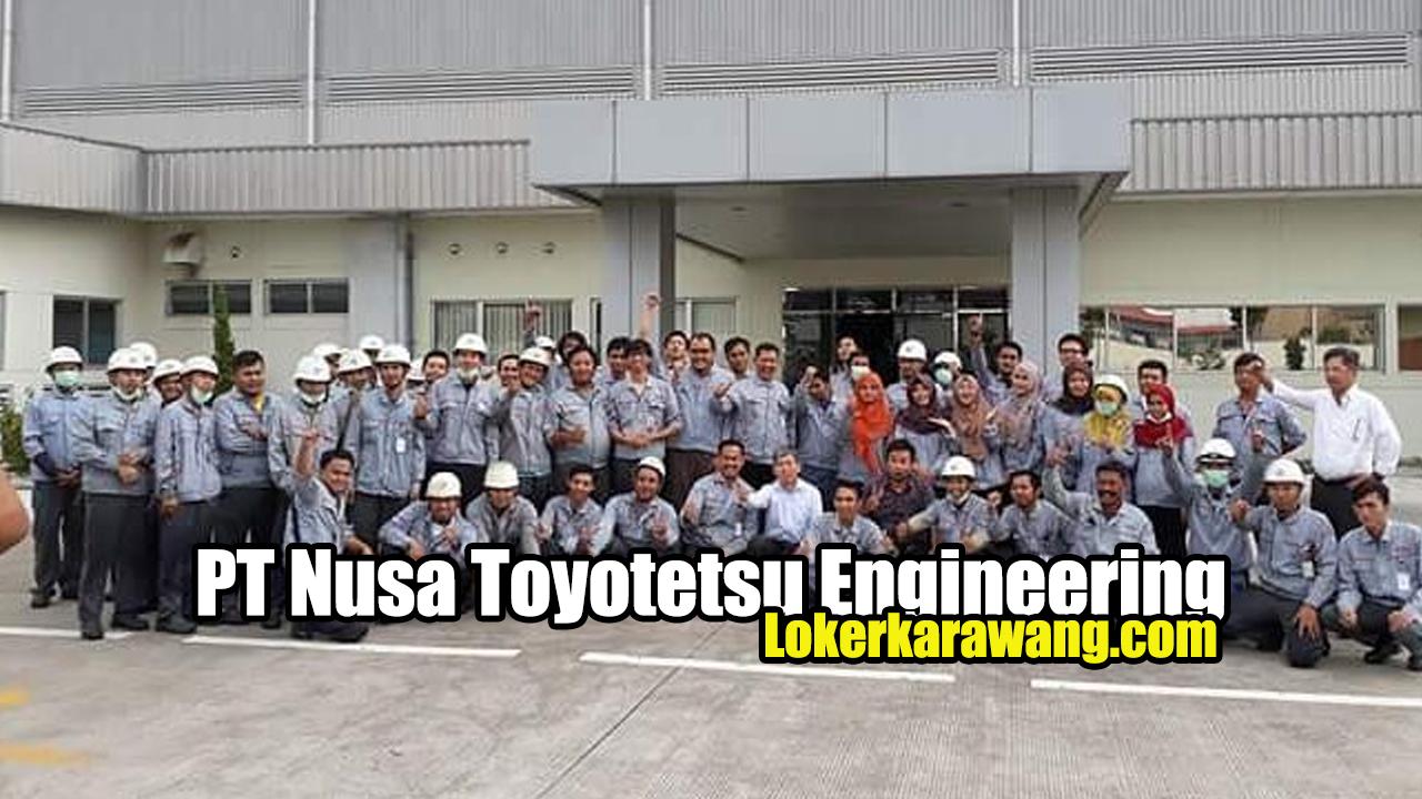 Lowongan Kerja Operator Produksi   PT Nusa Toyotetsu Engineering Karawang - LOKER KARAWANG JUNI 2020 Juni 2020