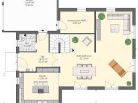Toskana Haus Modern Grundriss