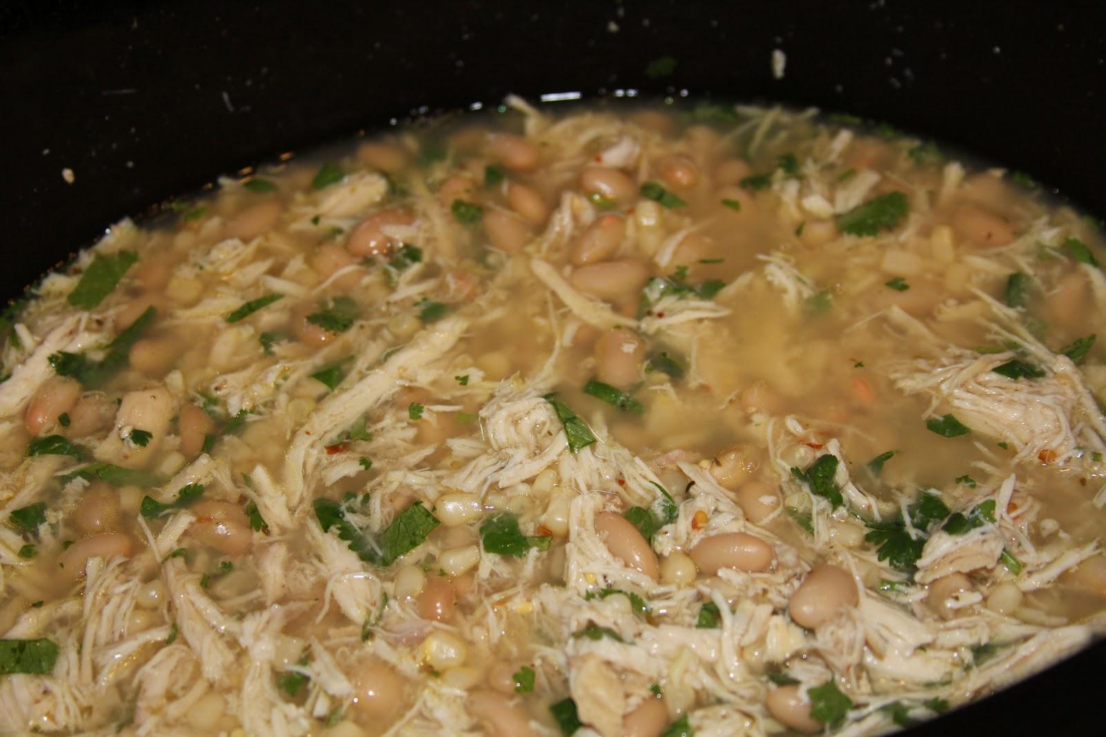 White Chicken Chili Crockpot Recipes With Corn