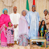 President Buhari Celebrate Eid- Mubarak With His Children & Grand Children