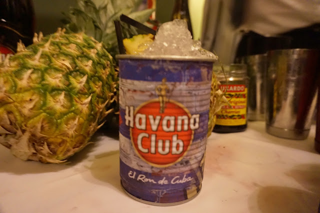 havana club tin can cocktail