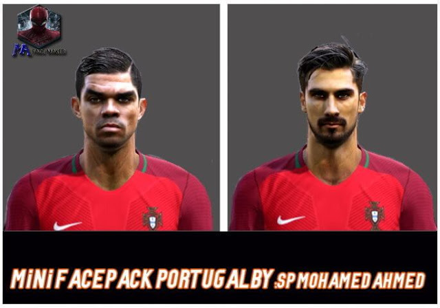 Pepe & Andre Gomes Face PES 2013