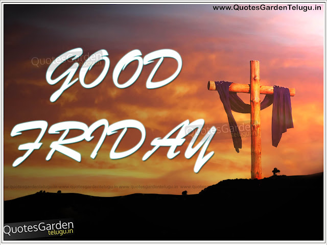 2016 Good Friday wishes greetings in English