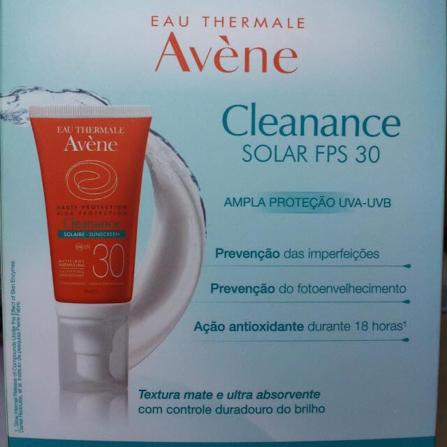 Protetor Solar Cleanance Avene