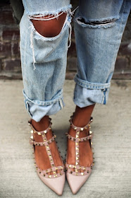 Look for Less: Valentino Rockstud Shoes   Fashion Cognoscente