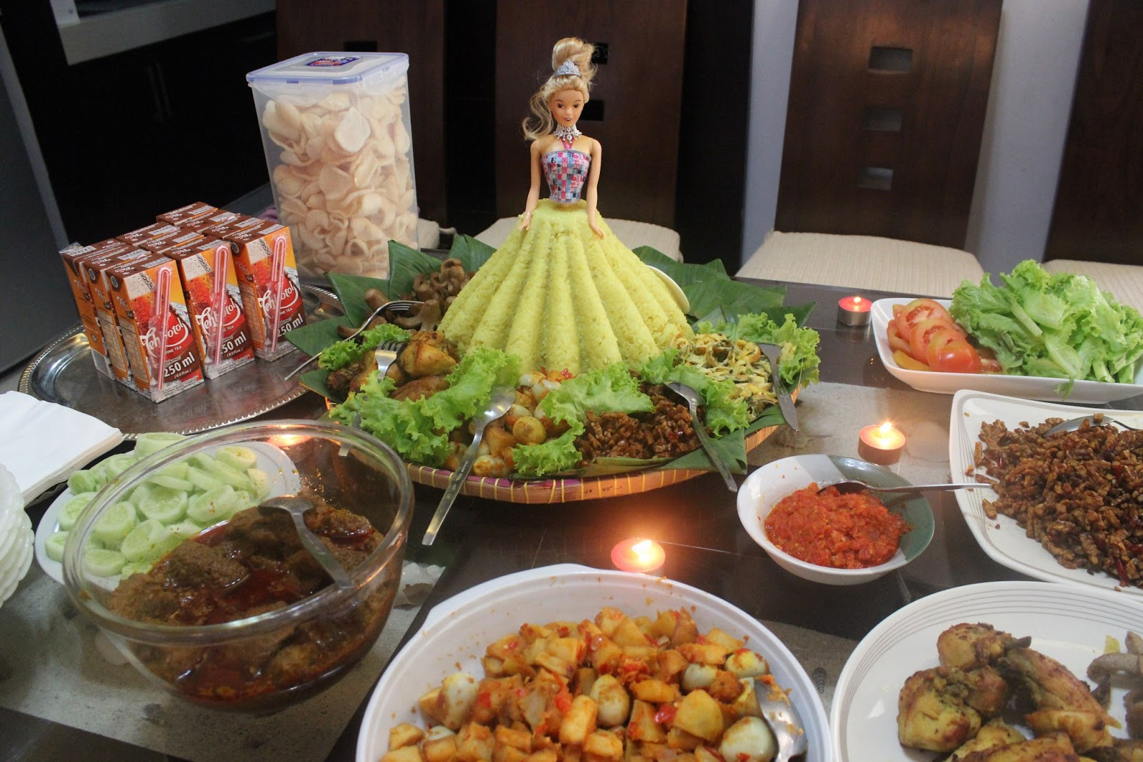 Thankful Life Tumpeng Barbie
