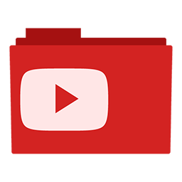Youtube Folder Icon Png image