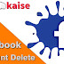 Facebook Account Delete kaise kare-Facebook ID delete karne ka tarika
