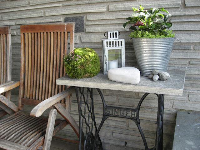 Inspirasjon til høstkrukker - del 1 på en overbygget veranda i Furulunden