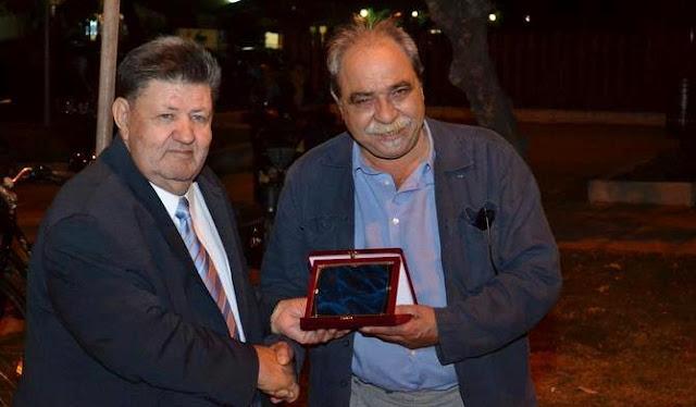 Τον συγγραφέα Αλέξανδρο Καζαντζή τίμησε η Ένωση Πολιτιστικών Φορέων Έβρου