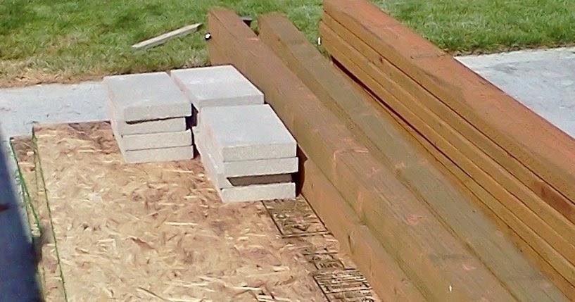 Build Shed Foundation On Slope Sep Shed Plans