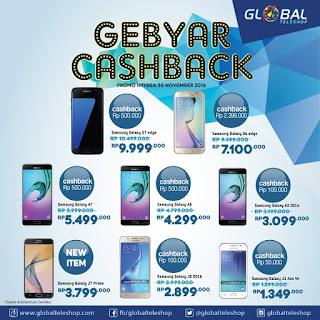 Promosi Samsung Galaxy Gebyar Cashback