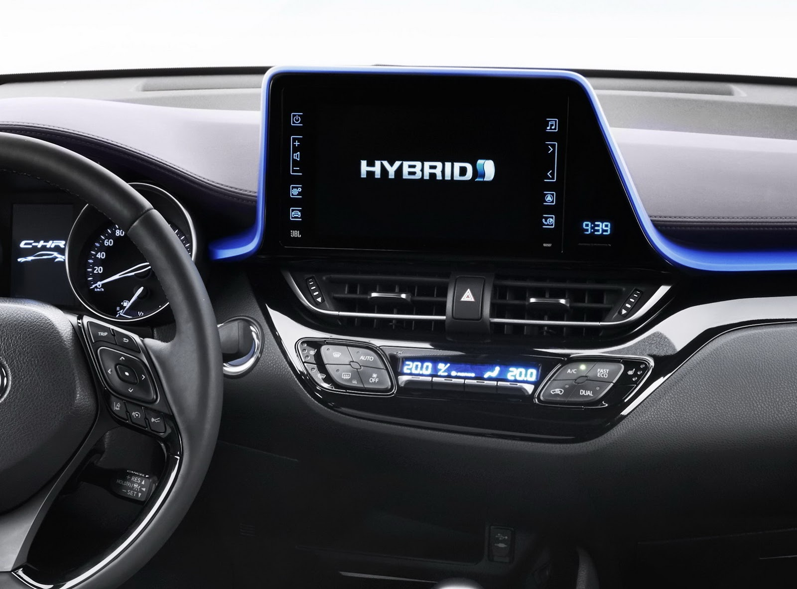 2017 Toyota C-HR Small Crossover's Interior Revealed [w/Video] | Carscoops