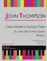 john thompson curso moderno para el piano parte 1