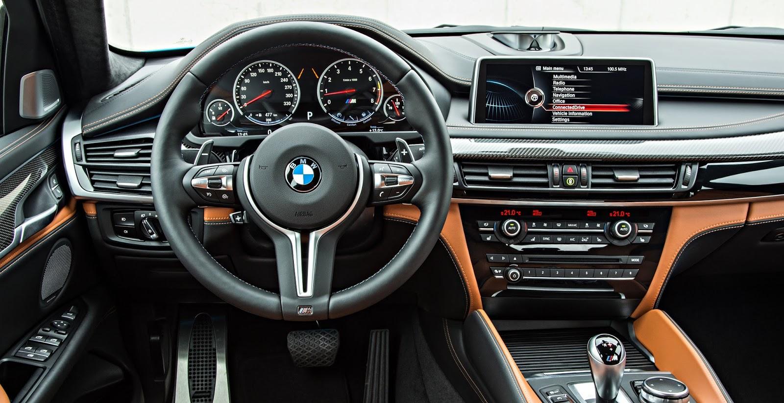 BMW X6M e xDrive35i chegam ao Brasil