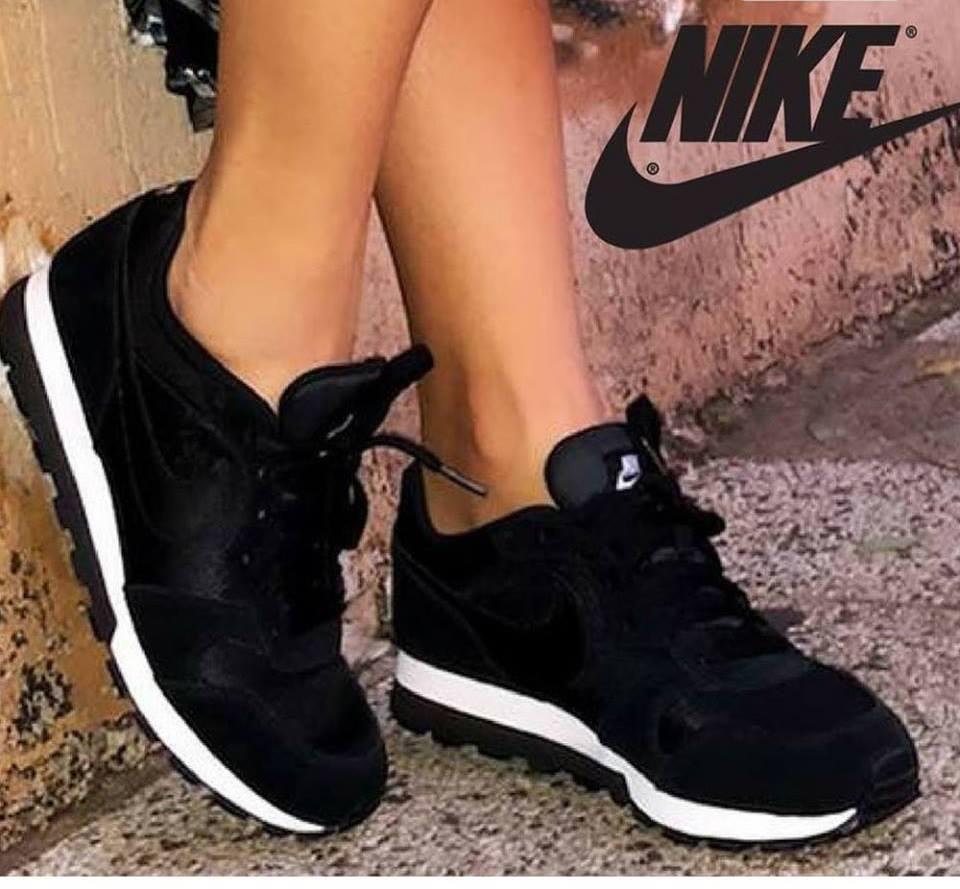 ... 2 Feminino - Gelo e Preto - Compre Agora Loja .. Tênis Nike Md Runner -  R 121 ba9049413eb6a