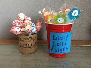 Lucky Lolly Terms and Signs Music Carnival Game