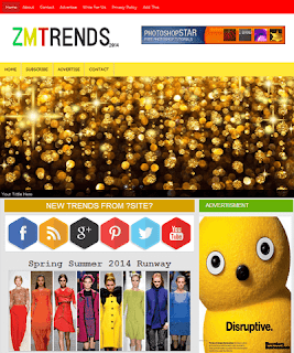 ZM Trends Blogger Template