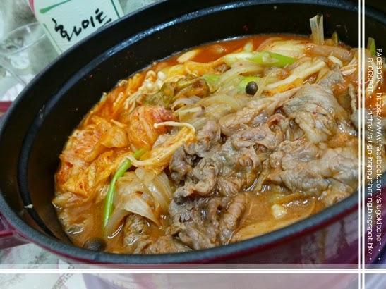 ♥ 小高網誌 x 小高廚房 ♥♥: 我的韓式煮意 - 韓式泡菜牛肉鍋