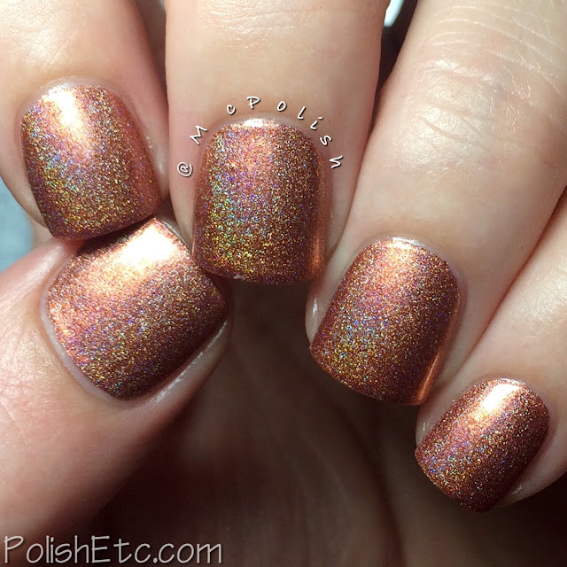Nine Zero Lacquer - Thanksgiving Trio - McPolish - Turkey Coma