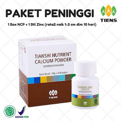 Jual Suplemen Obat Peninggi Badan Tiens di Palembang Termurah