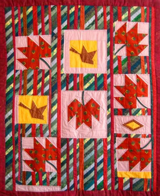 Ginette's quilt
