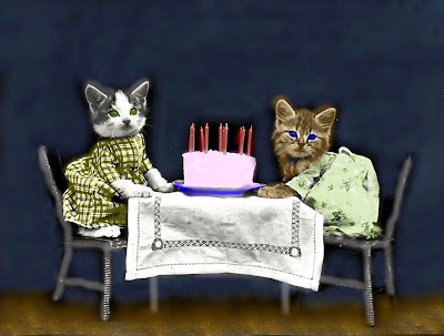 The Birthday Cake Clip Art