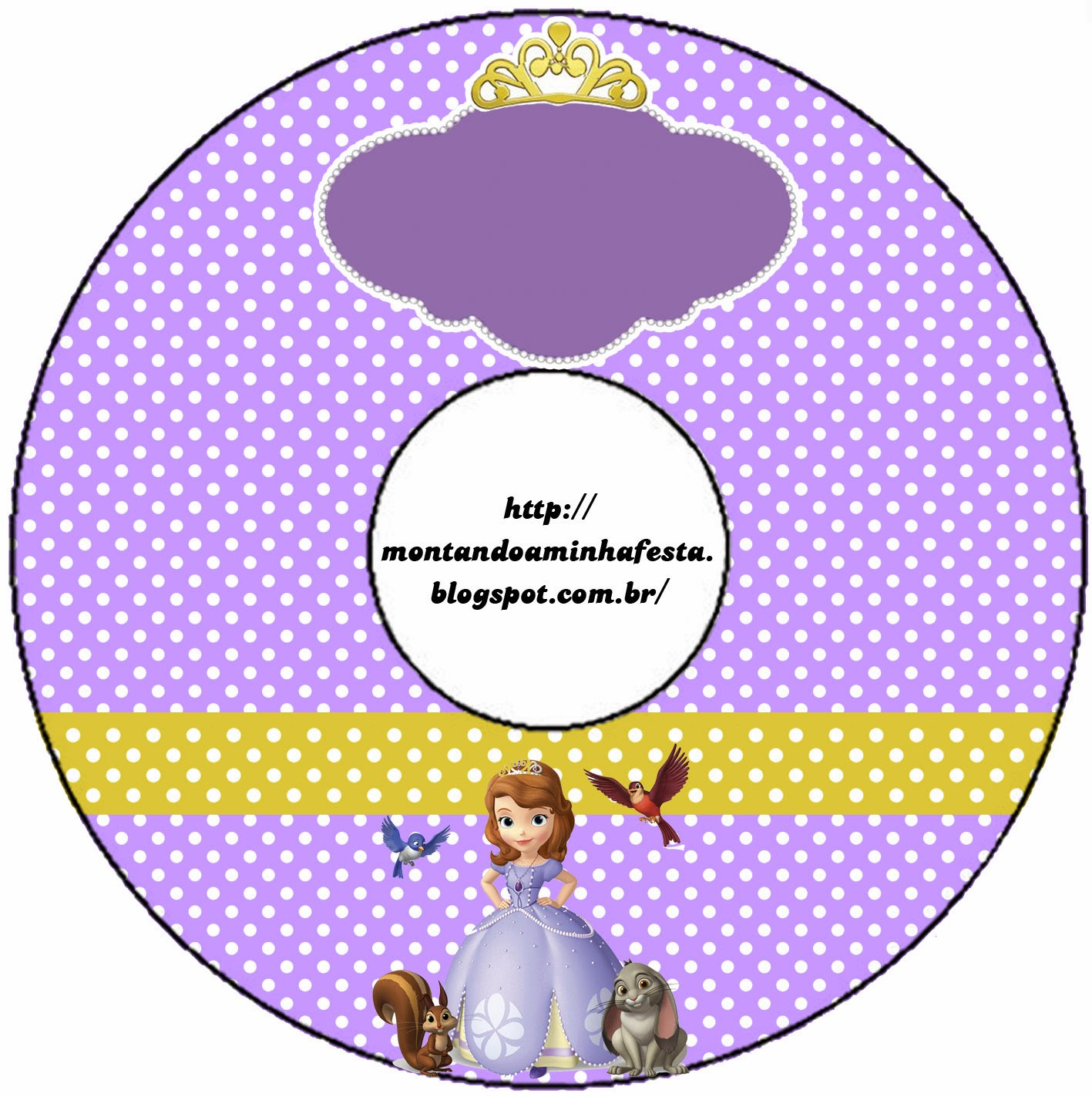 Princesa Sofía Etiquetas Gratis Para Candy Bar Ideas Y