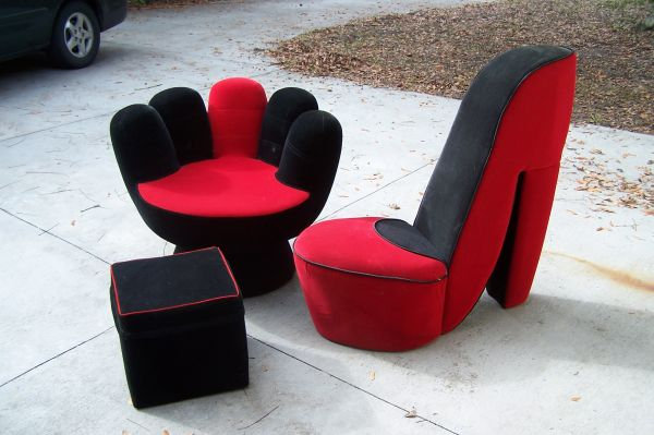 deluxe home furnishing Shoes Chair