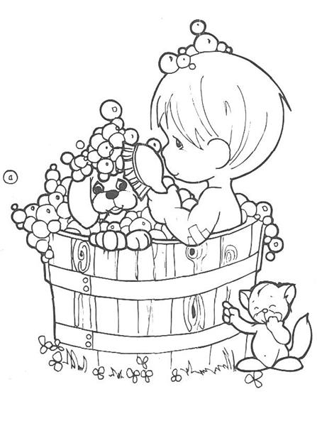 Coloring Pages Fun: Precious Moments Coloring Pages