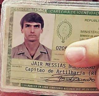 Capitão Bolsonaro lidera disputa presidencial