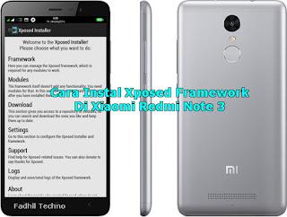 Instal Xposed Framework Di Xiaomi Redmi Note 3 Dengan Mudah -idwatershare.blogspot.com
