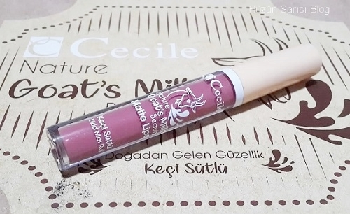 Cecile Nature Goat Milk Beauty Matte Lips