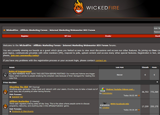 wickedfire, best seo sites, web traffic