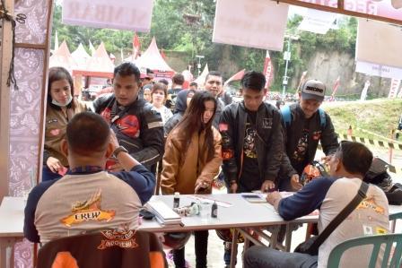 Perdana, Honda Bikers Day Hadir di Sumatera Barat