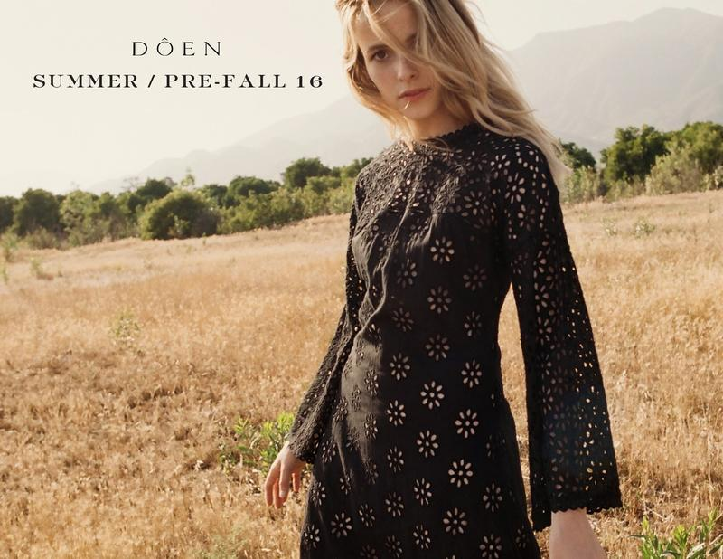 DOEN Summer/Pre-Fall 2016 Lookbook