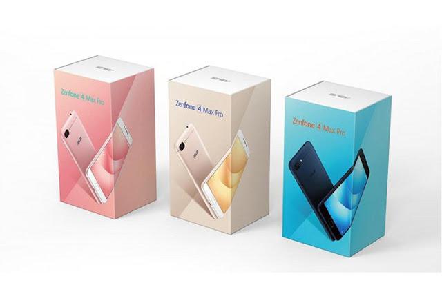 Asus menurunkan harga Zenfone 4 MAX PRO  ZC554KL dan Zenfone 4 MAX ZC520KL