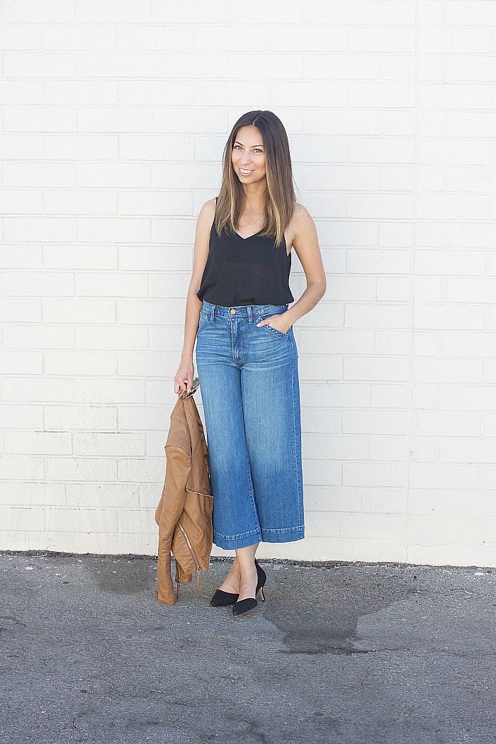 214f6aa102f Adri Lately  Wide Leg Cropped Jeans + Linkup