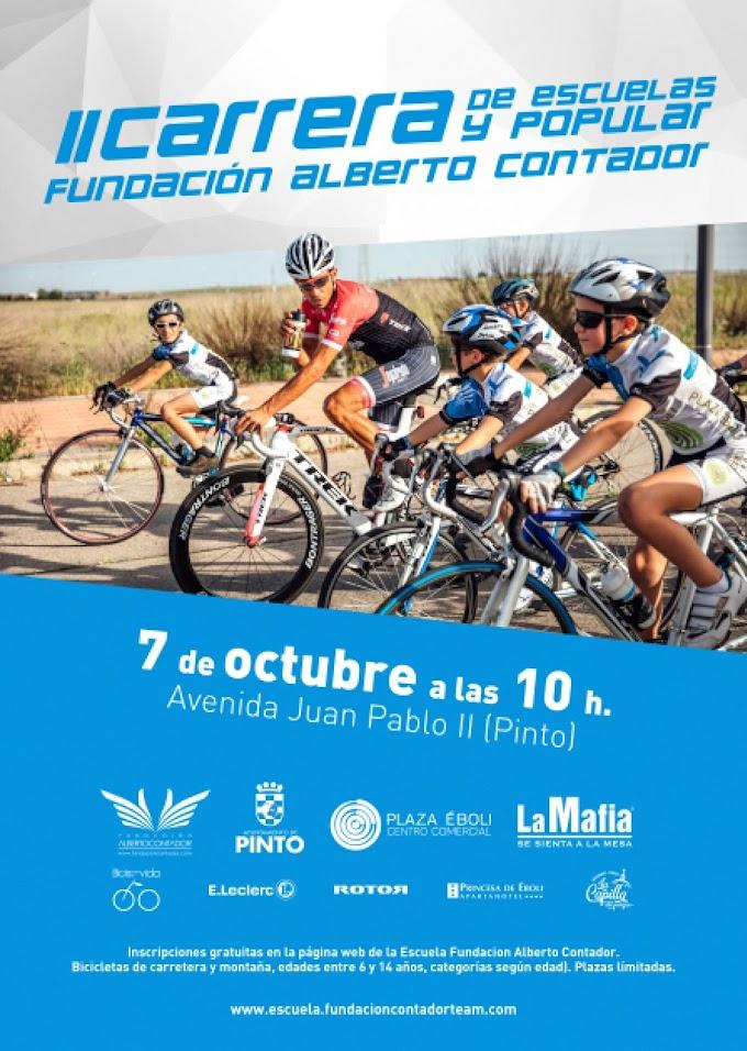 Las Escuelas toman Pinto con motivo de la segunda edición de la Carrera de la Fundación
